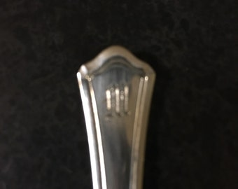 Sterling olive spoon