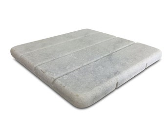 Marble Soap Dish – White Carrara Marble Stone Soap Holder