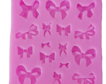 Ribbon Bows  Silicone Mold