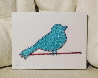 CUSTOM Bird String Art, Handmade, Animal Art, Gallery wall