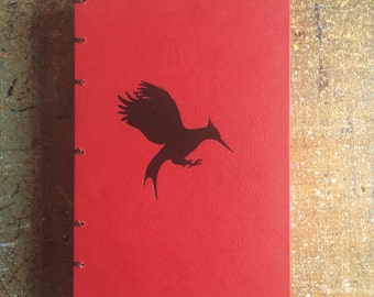 Hand-bound Blank Journal: Hunger Game's Catching Fire