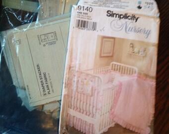 Nursery Layette Quilt Simplicity Pattern 9140.