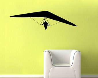 Glider Decal Etsy