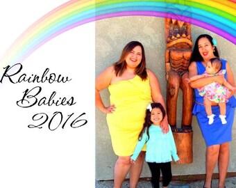 2016 Rainbow Babies benefit calendar