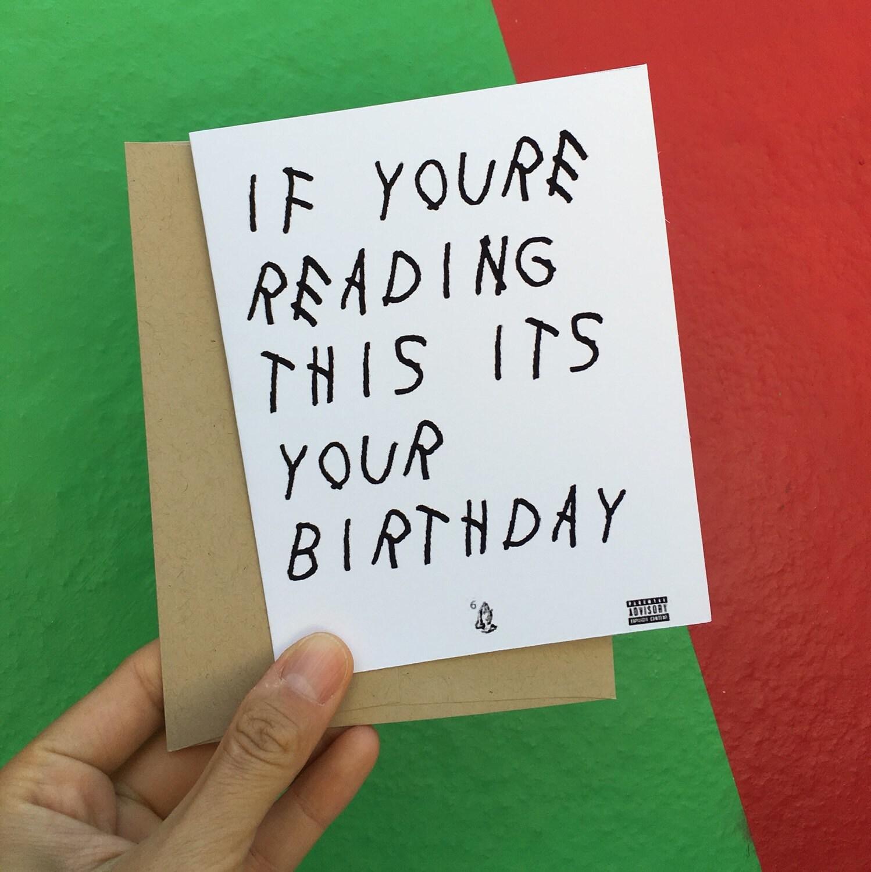 Birthday Card Funny Birthday Card Happy Birthday Card