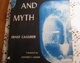 Vintage Languages and Myth Book by Ernst Cassirer 1946