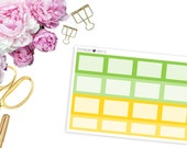 2016 ECLP August Square Boxes -- Matte Planner Stickers
