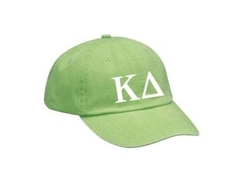 KD Kappa Delta Letters Hat Choose Your Colors Sorority Hat