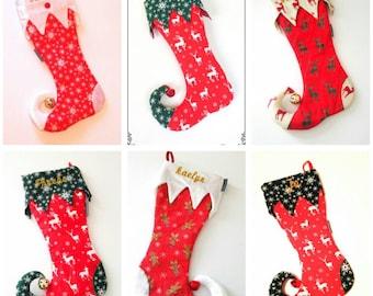 Items Similar To Adult Long Stocking Elf Hat Pattern