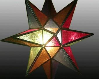 Handmade Moroccan Star lantern / Moravian star