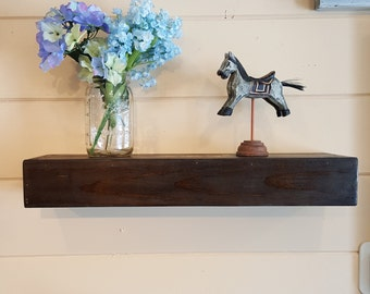 Floating Wall Shelf, Custom Handmade , Rustic, Wall Decor,