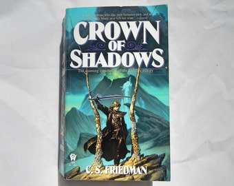 Crown of Shadows by C.S. Friedman of the Coldfire Trilogy Vintage 1996 Paperback