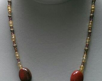 Chestnut Brown Necklace