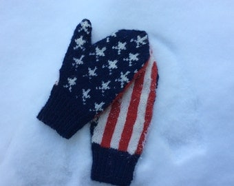 Campaign Trail Mittens Pattern PDF Download