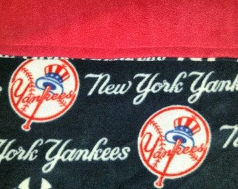 Yankees fleece blanket