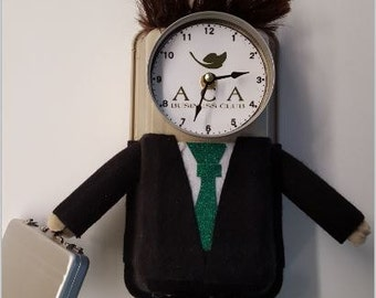 Male Professional Clock, Made to Order
