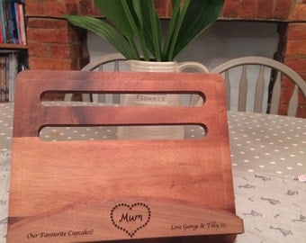 Personalised Cook Book Stand