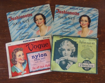 Vintage Hair Nets 1940's