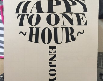 Don't Limit Happy Hour Decal