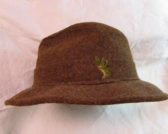 Resistol Brown Wool Fedora