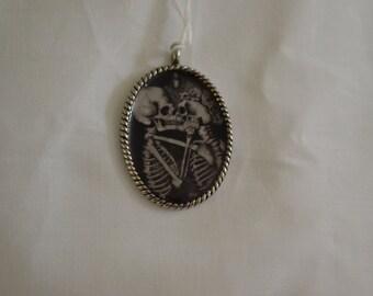 Skeleton Lovers Necklace