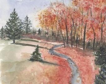 Autumn-Crawford Park,Rye Brook NY