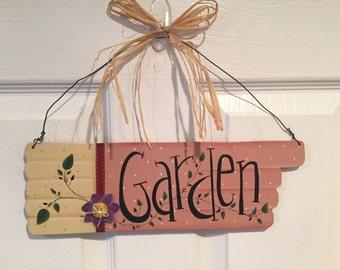 Garden Glove Garden Sign