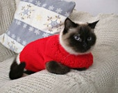 Hand knit cat jumper Sphynx sweater Pet top Cat dog jumper Pets clothing Knit pets sweater Pet accessoires Cat dog clothing Cat lover gifts