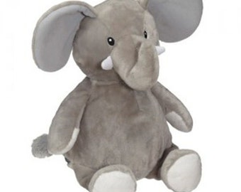 "Elford Elephant 16"" Great To Embroider #EB91091"