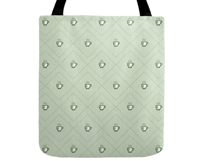 Tea Tote Bag - Icon Prints: Drinks Series