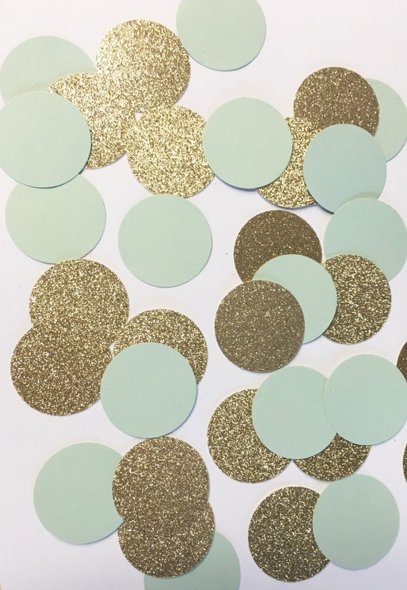 Mint to be confetti//confetti, party decor, party decorations, wedding shower, bridal shower, baby shower, bachelorette party, wedding decor