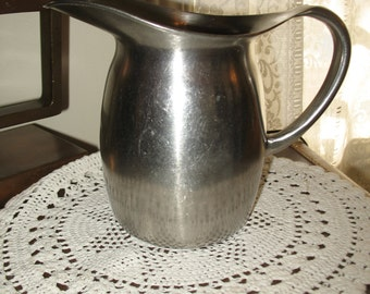 Vintage pitcher 1960/70 stainless steel