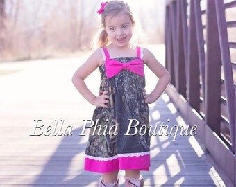 Mossy Oak and Lace Hattie Dress