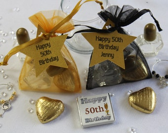 50th 60th or 40th party favours/ Special birthday gift bags