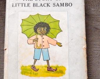 The Story of Little Black Sambo Book J.B. Lippincott Co. New York