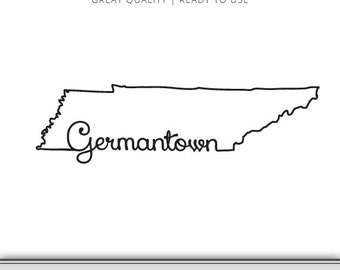 Germantown Tennesse Graphic