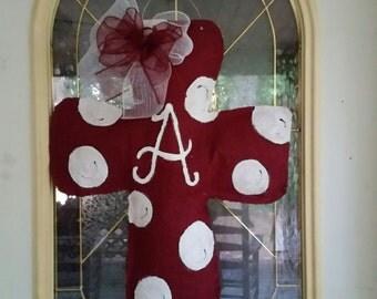 Alabama Cross Door Hanger