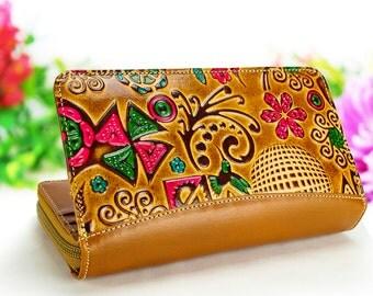 Smartphone purse, phone purse, leather purse, cell phone purse, iPhone 6 plus purse, small purse, samsung purse, clutch purse