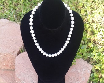 Handknotted Cultured Pearl Necklace