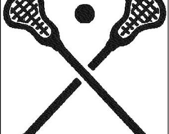 Lacrosse Embroidery Design