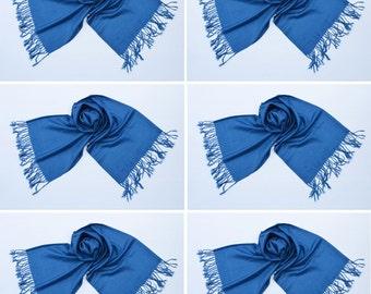 6 BLUE PASHMINA,pashmina scarf,pashmina shawl,bridesmaid shawls,Pashmina Wedding,scarf, shawl, scarves 001