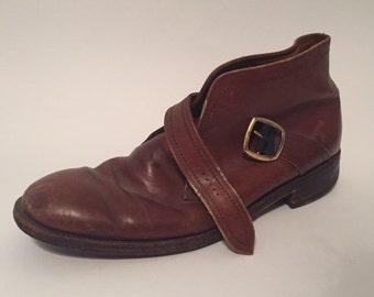 Vintage Florsheim Imperial Men's Leather Boots Size 13