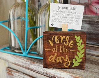 Verse of the Days Mini Blocks