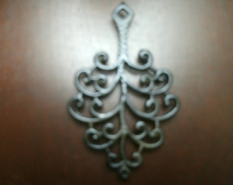 Unique Vintage Iron Trivet
