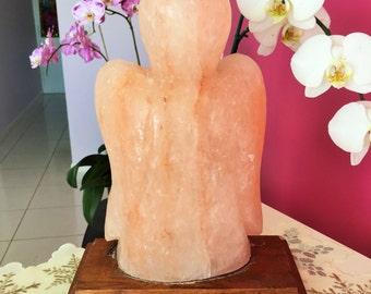 Himalayan Salt Lamp w/ Reiki / Healing Stones and Crystals