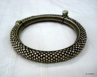 Vintage bracelet antique bracelet tribal old silver bracelet bangle cuff