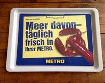 Vintage German METRO Tray Fibreglass Cafeteria