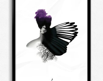 One for Sorrow   Graphic Art