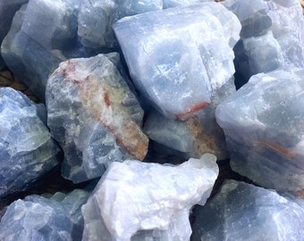 Blue CALCITE/ Crystal/ Mineral/ Metaphysical/ Healing/ Gift/ Chakra/ Stone