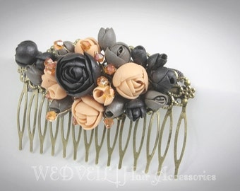 Flower Hair Comb for Wedding